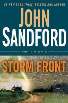 Storm Front by John Sandford -In Israel, a man clutching a backpack searches desperately for a boat. In Minnesota, Virgil Flowers gets a message from Lucas Davenport: You're about to get a visitor. It's an Israeli cop, and she's tailing a man who's smuggled out an extraordinary relic—a copper scroll revealing startling details about the man known as King Solomon.