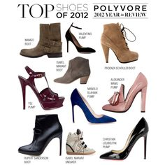 """Top Shoes of 2012"" by polyvore-editorial ❤ liked on Polyvore"