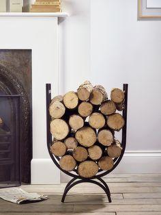 Iron Log Holder Large