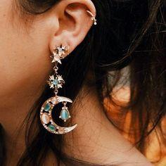 sailor moon earrings #styleaddict