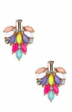 Multi Cluster Earrings