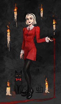 Sabrina Spellman by Yioshka on DeviantArt Teen Witch, Kiernan Shipka, Halloween Wallpaper Iphone, Arte Obscura, Sabrina Spellman, Witch Art, Archie Comics, Belle Photo, Cute Wallpapers