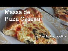 Receita de Pizza (massa, molho e borda recheada) - Cookmade