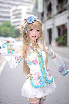 Amelia(Ichina Akira) 南ことり コスプレ写真 - Cure WorldCosplay