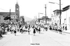 Desfile en Zamora Michoacan Mexico