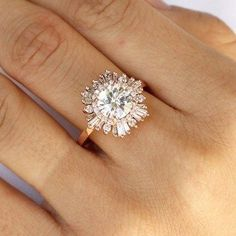 Unique engagement rings say wow 8 #UniqueEngagementRings #engagementrings