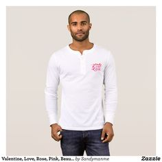 Valentine Love Rose Pink Beautiful Couple T-Shirt - Heavyweight Pre-Shrunk Shirts By Talented Fashion & Graphic Designers - #sweatshirts #shirts #mensfashion #apparel #shopping #bargain #sale #outfit #stylish #cool #graphicdesign #trendy #fashion #design #fashiondesign #designer #fashiondesigner #style