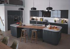 weltneuheit von nobilia grifflose designk che line n. Black Bedroom Furniture Sets. Home Design Ideas