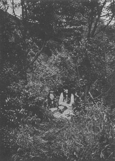Auberon's photos of Daily Alice and Sophie, The Cottingley Fairies