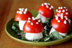 Look! Magic Mushroom Caprese Salad — A Cup of Sugar...A Pinch of Salt