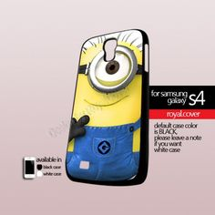 Despicabel Me Menion - Print On Hard Case For Samsung Galaxy S4 i9500