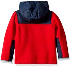 Columbia Boys' Toddler Rugged Ridge Sherpa Hybrid Full Zip, Mountain red/Collegiate Navy, >>> Check this remarkable product by mosting likely to the link at the image. (This is an affiliate link). Baby Boy Jackets, Rugged Ridge, Weather Day, Sherpa Lined, Line Jackets, Kids Boxing, Hoodies, Sweatshirts, Warm And Cozy