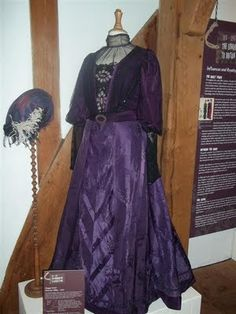 Downton Abbey. Worn by Maggie Smith as the Dowager.