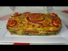 Diet Recipes, Vegan Recipes, Oven Vegetables, Salmon Burgers, Quiche, Easy Meals, Food And Drink, Healthy Eating, Dishes