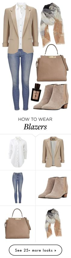 Nordstrom Topshop - 12 stylish beige blazer fall outfits you can also wear Find . Moda Casual, Casual Chic, Casual Fridays, Topshop, Mode Outfits, Fall Outfits, Style Blazer, Blazer Beige, Blazer Jeans