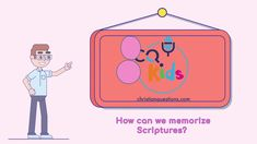We can choose verses that are meaningful to us. Watch now! Bible Videos For Kids, Scriptures, Verses, Good Advice, How To Memorize Things, Family Guy, Christian, Canning, Watch