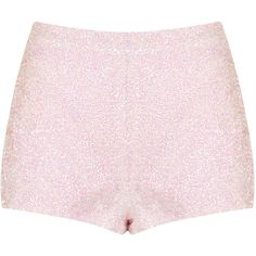 TOPSHOP Sequin Knicker Shorts ($80) ❤ liked on Polyvore