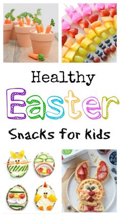 Healthy Easter Snack Crafts - a collection of some of the cutest spring time snacks around that aren't loaded with with sugars - just pure wholesome goodness! snacks Healthy Easter Snack Crafts for Kids - Southern Made Simple Easter Snacks, Easter Lunch, Easter Appetizers, Easter Dinner, Easter Recipes, Easter Treats, Easter Food, Easter Party, Easter Deserts