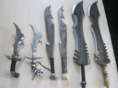 Boffer weapons