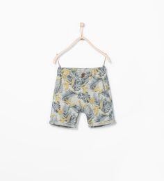 ZARA的图片 2 名称 花朵百慕達短褲