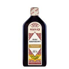 Najwyższej jakości olej rzepakowy tłoczony na zimno. Naturalny, nierafinowany, nieoczyszczony, pełen naturalnych właściwości. Sauce Bottle, Vodka Bottle, Bottle Opener, Barware, Oil, Arnica Montana, Butter, Tumbler