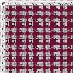 draft image: Figurierte Muster Pl. XLI Nr. 1, Die färbige Gewebemusterung, Franz Donat, 8S, 8T