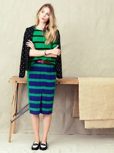 @Madewell mixes with G.H. Bass & Co