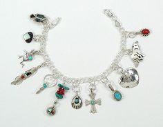 I love this Native Spirit charm bracelet!
