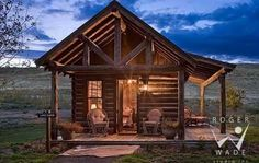 Tiny Romantic Cottage House Plan | Standout Small Cabins . . . A Smorgasbord of Styles!