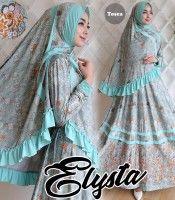 Gamis Elysta Syar'i Tosca