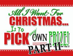 All I Want For Christmas HUGE Giveaway Part TWO!!! via Decor Chick