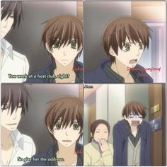 [[ Collage by @anime_obsession_ ]] Masamune Takano and Ritsu Onodera