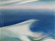 Blue Wave Maine Light Blue Sea 1926