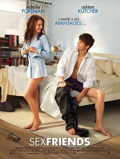 """Sex Friends est un film de Ivan Reitman avec Natalie Portman, Ashton Kutcher. Synopsis : Entre """"Sex Friends"""", il faut respecter quelques règles de base :Ne jamais s'offrir de cadeaux.Ne pas dîner en tête à tête.Accepter la c"""