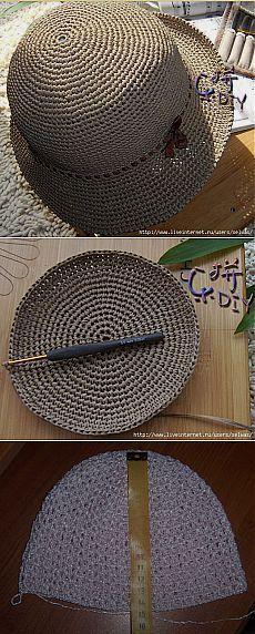шапочки, шляпки крючком | Записи в рубрике шапочки, шляпки крючком | Дневник quanessa