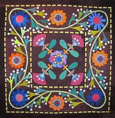 Magnolia Quilt-Sue Spargo If Only I had more time to quilt...