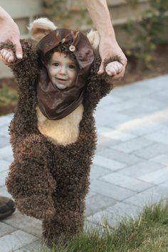 High Quality CustomMade Ewok Costume for Babies and by ThriceLoved