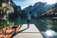 Lago di Braies // Pragser Wildsee Have to go place in South Tyrol! South Tyrol, Landscape Photos, Outdoor Furniture, Outdoor Decor, Hammock, Storytelling, Places To Go, Water, Green