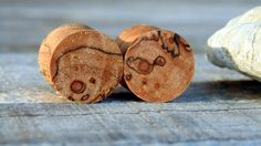 12.5mm Fantastic Black line Maple burl wood ear plugs, organic hand crafted half inch gauge set of flesh plugs by MustLoveWoodPlugs on Etsy