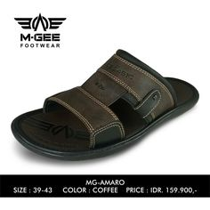 M-GEE Footwear MG-AMARO Coffee