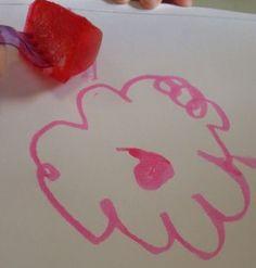 13o Dia da Oficina Virtual Férias de Verão - Pintura com gelo
