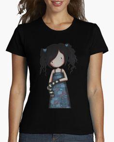 brand clothing Time Limited women t shirt Gorjuss Short Print Cotton hip hop tees girl Clothing