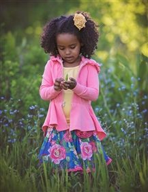 Persnickety Wildflowers Victoria Jacket in Pink