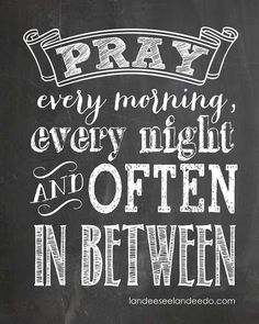 Pray! #faith