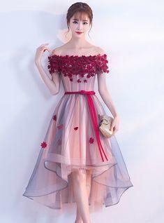Auf Lager: innerhalb 48 Stunden verschicken Pink Off The Shoulder Tulle Hi Lo Dr. - - Auf Lager: innerhalb 48 Stunden verschicken Pink Off The Shoulder Tulle Hi Lo Dress – Source by Elegant Dresses, Pretty Dresses, Beautiful Dresses, Casual Dresses, Formal Dresses, Korean Dress Formal, Awesome Dresses, Chic Outfits, Dress Outfits