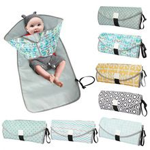 3 In 1 Waterproof Changing Pad Diaper Travel Mat Portable Baby Diaper Cover Mat Multifunctio In 2020 Baby Diaper Pads Waterproof Changing Pad Baby Changing Mat Travel