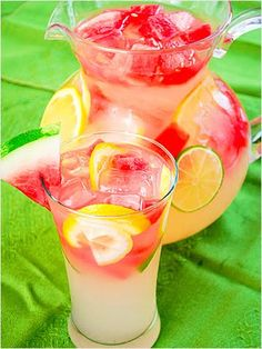Watermelon Lemonade and other watermelon recipes