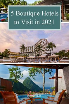 Attention to detail, sophisticated atmosphere, and exclusivity are just a few reasons these boutique hotels get repeat clients year after year. Check out our list of top boutique hotels for 2021 here! Caribbean Vacations, Vacation Resorts, Best Vacations, Hermitage Bay, Ladera Resort, Romantic Destinations, Travel Destinations, Overwater Bungalows, Best Boutique Hotels