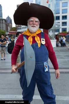 Stinky Pete the Prospector from Toy Story #pixar #toystory #cosplay