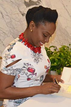 After years of dressing down to make the right impression, novelist Chimamanda Ngozi Adichie wises up to a truth that her Nigerian mother has known all along.